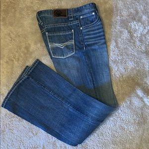 Boy's Rock & Roll Western Denim Jeans Size 18 R